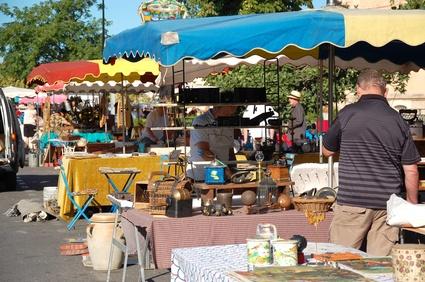 Trödelmarkt für viele eine Erlebnis